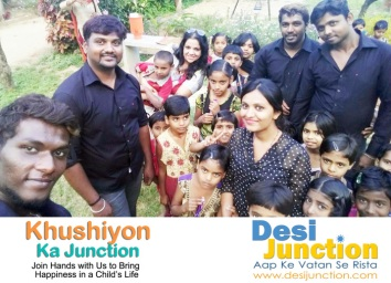 Desi Junction & iHope Volunteers are teaming up with Enrich Saloon to give a Makeover to needy Kids in Bangalore. Thanks to Reena Uppal, Seema Mishra Bhatnagar, Suman Sharma, Biju Verghese Pratik Tanna, Suhana Bhatia, Aishwarya Bhatnagar, Gargi Shukla Pathak, Ruby Saraf, Priti Sehrawat, Ankit Mahajan, Neela Patel, Aslam Qureshi, Surender Mathur, Ashita Mathur, Megha Mathur, Namita Dogra,RJPunita, Ruchi Vijayvargia, Vinita Gulabani, Shikha Pant for ther help and Support in this great cause, we are teaming up with many like minded people from around the world Monica Agarwal Roopali Chand, Noman Khan, Sneha DixitVA COSMETICS www.VAyourself.com, Vinnis SalonandSpa Vinita, Ravi Rawat,Mohan Rawat, Rti Rawat Shalini Dixit, Shalini Saxena, Ajai Kumar, Anil Nashier, Reshmi Nashier, Atul Agnihotri, Gee Mahesh, Neil Khot, Vandana Jhingan, Ankur Garg and many more to give new Hope, Love and Happiness for these little Kids
